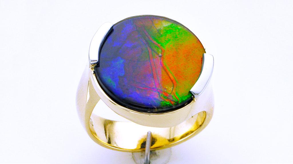 Resultado de imagen para ammolite rings
